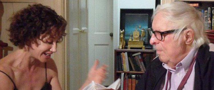 E. E. King reading shorts to Ray Bradbury